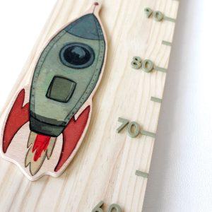 medidor de madera artesanal