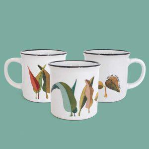 Taza de cerámica Lurra